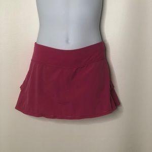 Ivivva By lululemon girls Pleated tennis skirt
